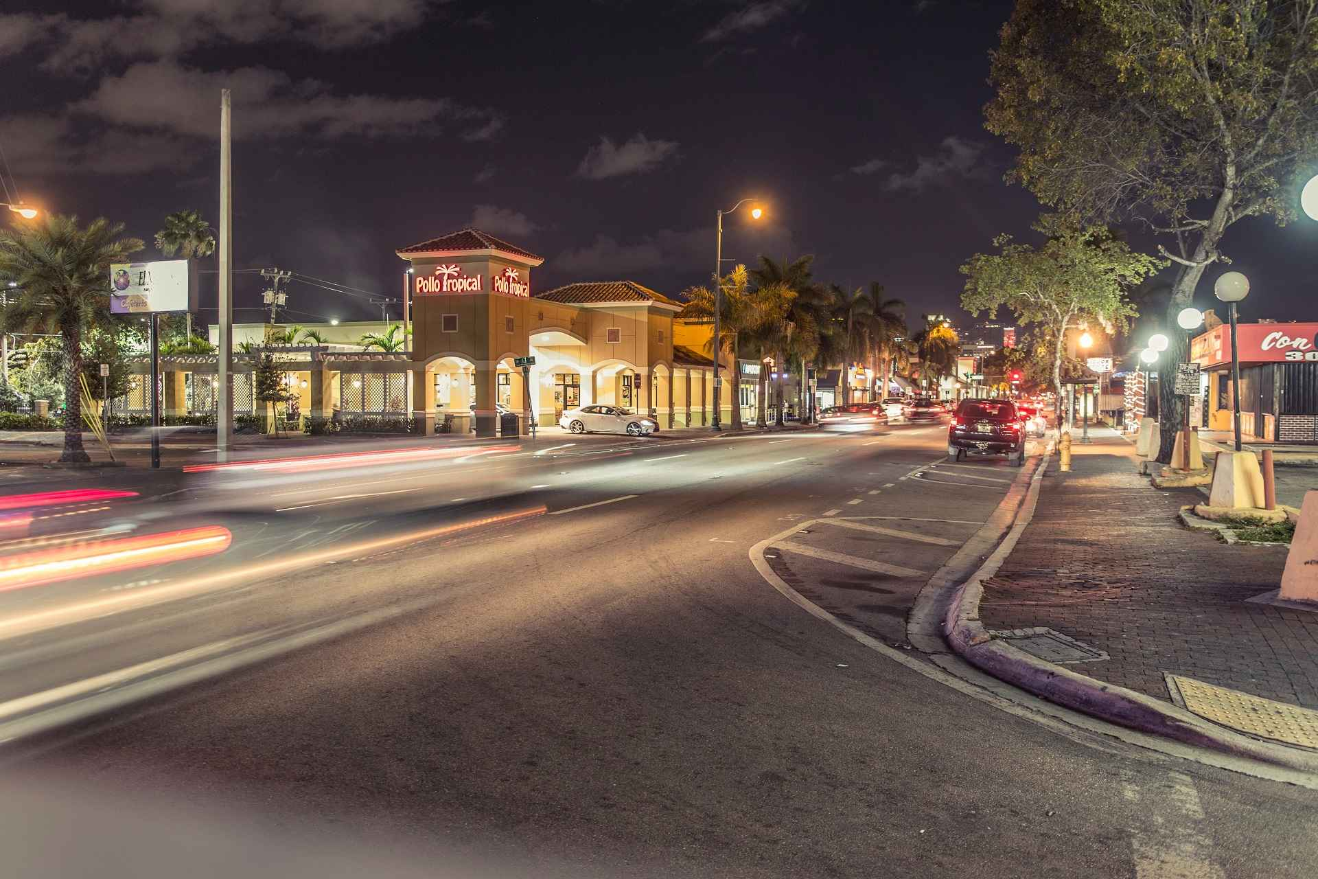 Little Havana at night